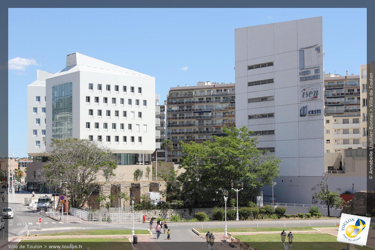 Campus du centre ville site officiel de la ville de toulon for Ville du 51