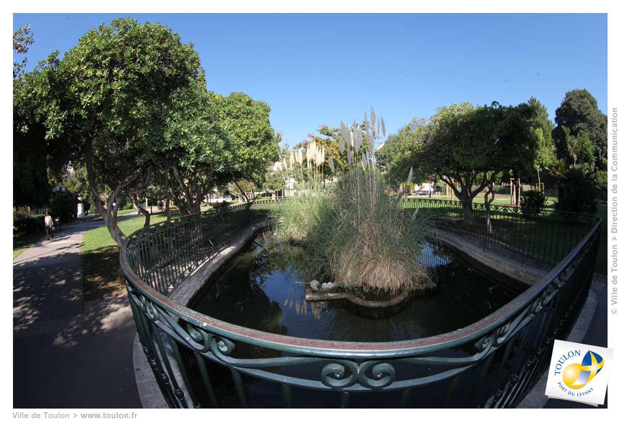 Jardin alexandre 1er site officiel de la ville de toulon - Ikea zaragoza jardin toulon ...