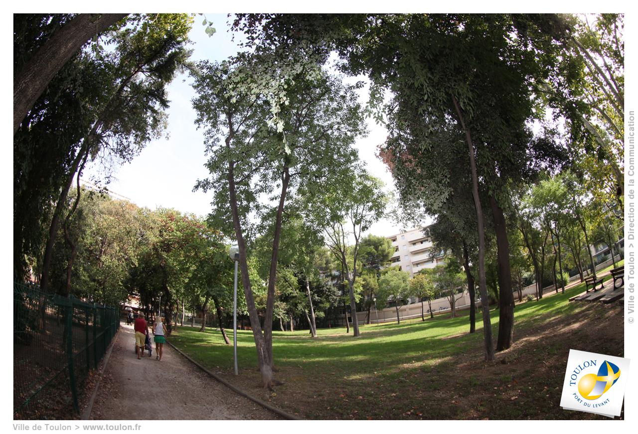 Parc raoulx site officiel de la ville de toulon for Espace vert toulon