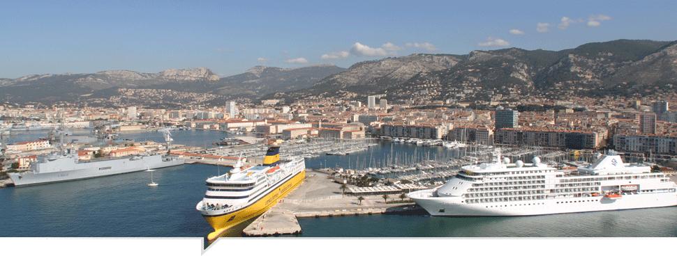 bateaux de croisières à Toulon