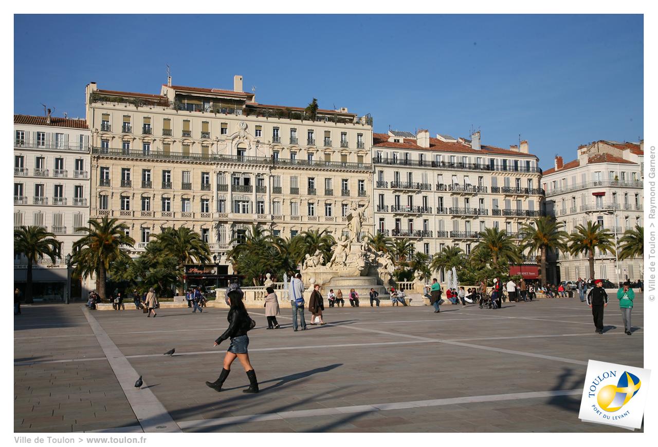 La place de la libert site officiel de la ville de toulon - Piscine municipale de bonnevoie toulon ...