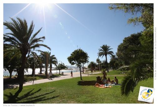 Parc des plages du Mourillon