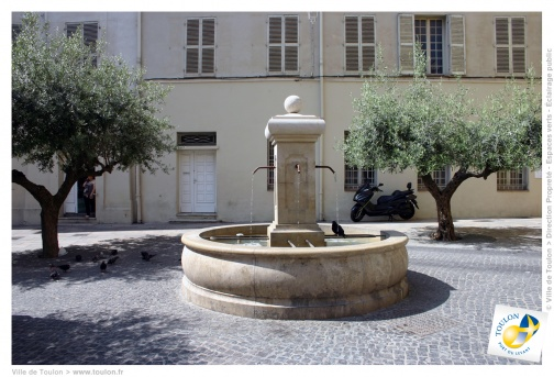 Fontaine place Paul Comte