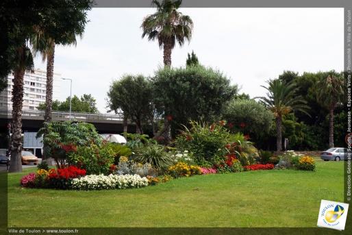 Toulon en fleurs