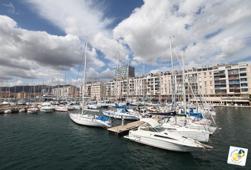 Le port de Toulon
