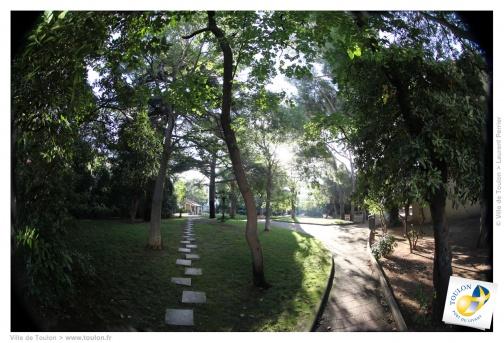 Les parcs et jardins toulonnais