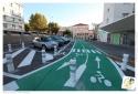 Les pistes et bandes cyclables à Toulon